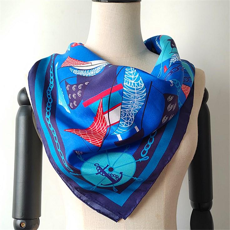Custom Digital Printed Silk Twill